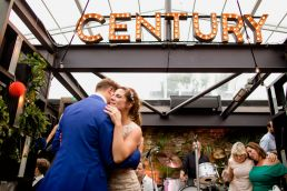 Century Club Wedding